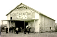 Brady's Livery Stable in Romney